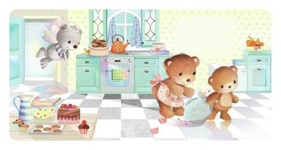 bears-in-kitchen