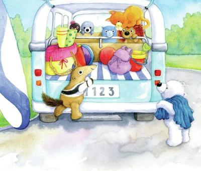 soft-toys-going-to-the-beach-campervan-gailyerrill-portfolio