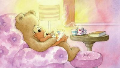daddy-bear-and-baby-bear-reading-gail-yerrill-portfolio-copy
