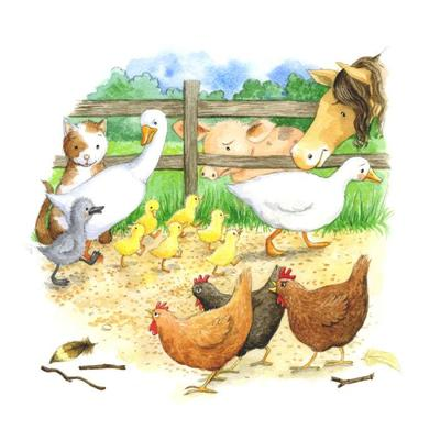 the-ugly-duckling-farm-animals-making-fun-gail-yerrill