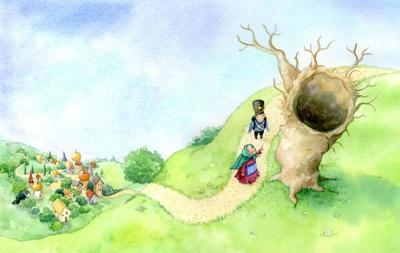 the-tinder-box-hans-christian-anderson-old-woman-and-the-tree-gailyerrill