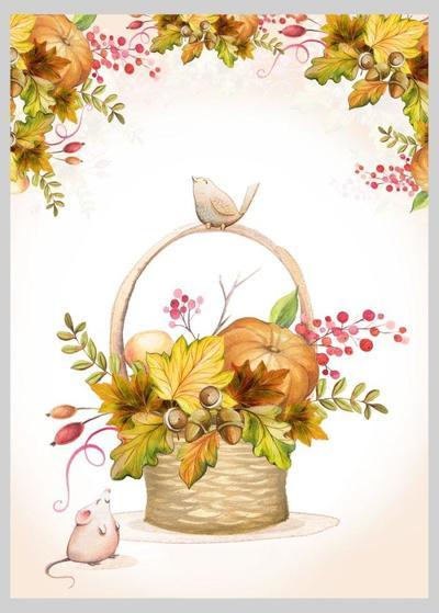 autumnal-fall-thanksgiving-basket