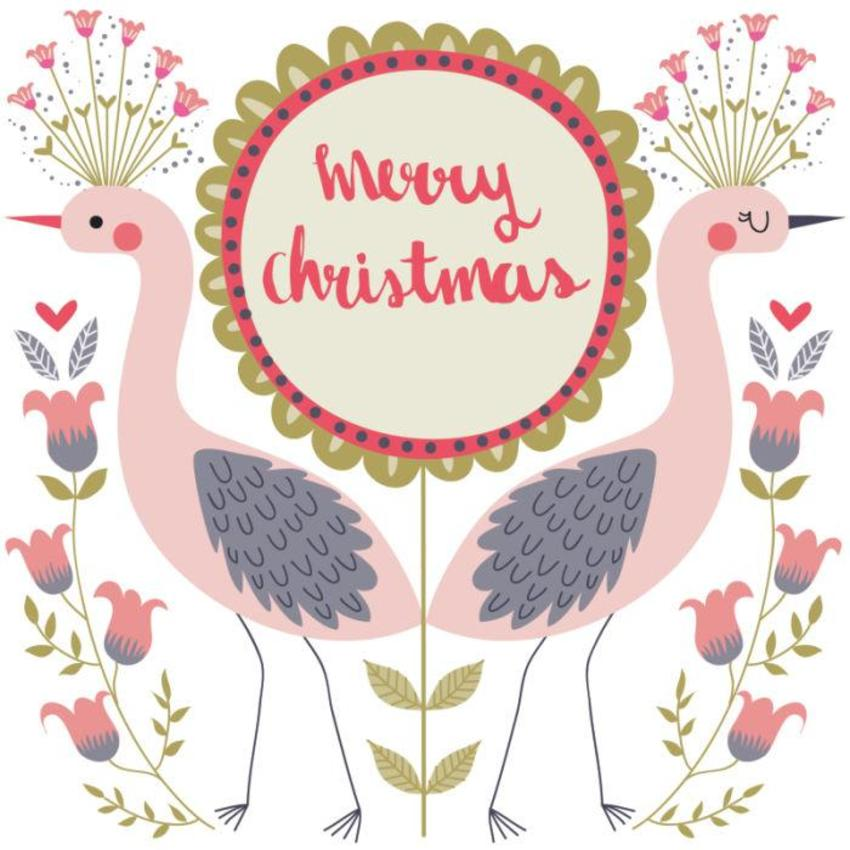 Christmas Card - GM_Herons