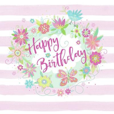 floral-stripe-birthday-type