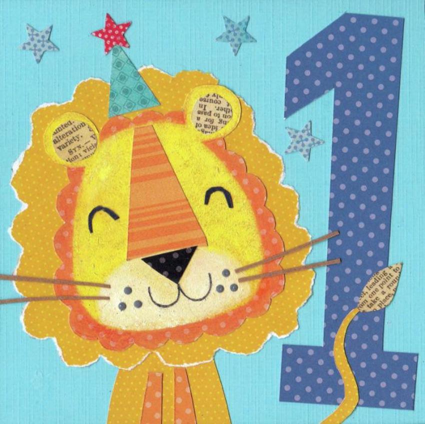 Age 1 Boy Lion