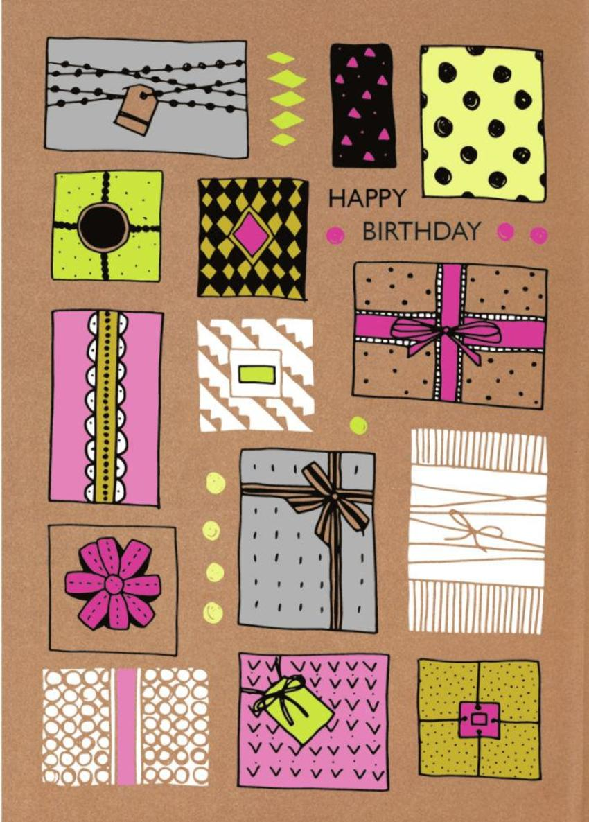 RP Craft Presents Birthday