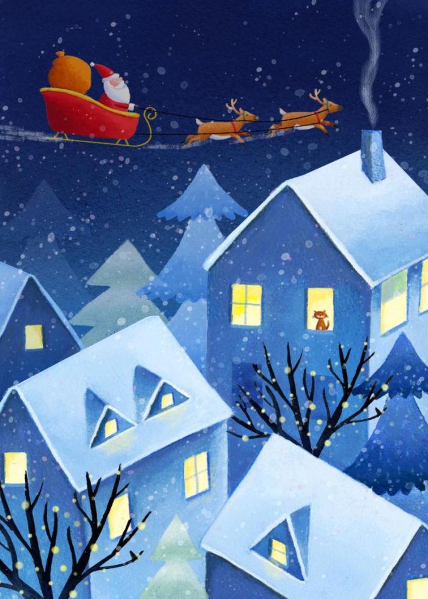 Hwood Santa Roofs