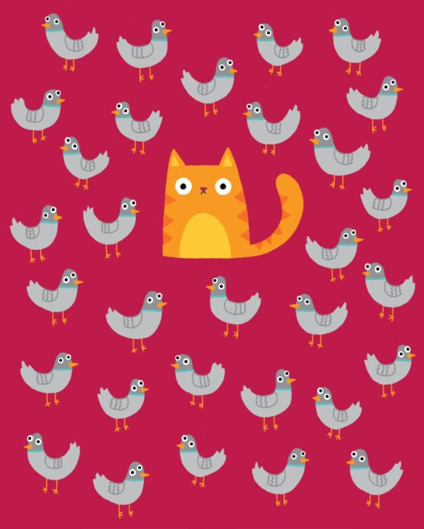 Cat Among The Pigeons