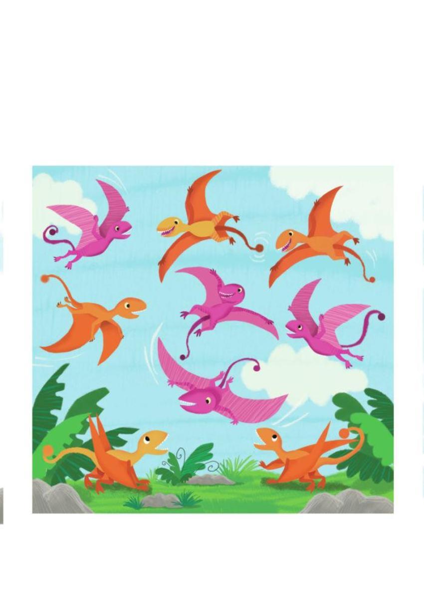 Dino's In Air Melanie Mitchell
