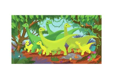 dinosuars-stomping-melanie-mitchell