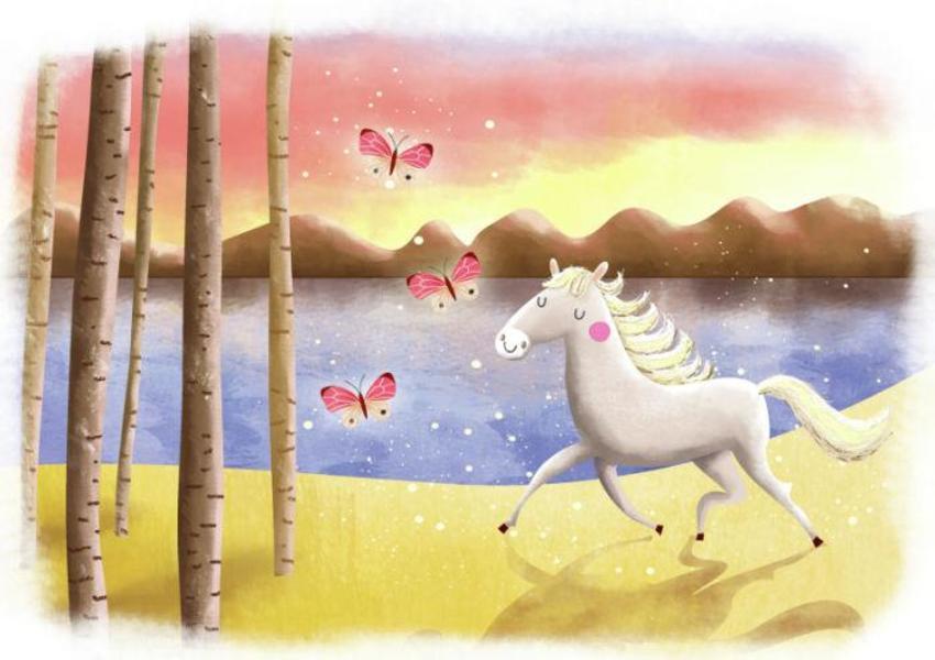 Horse Running - Gina Maldonado