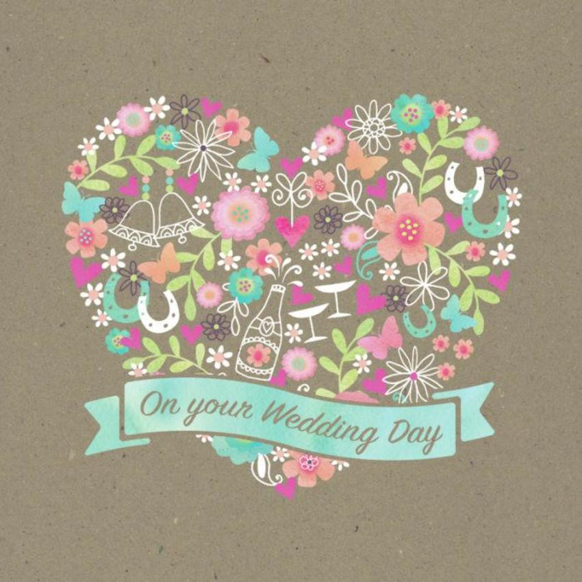 Wedding Day Heart