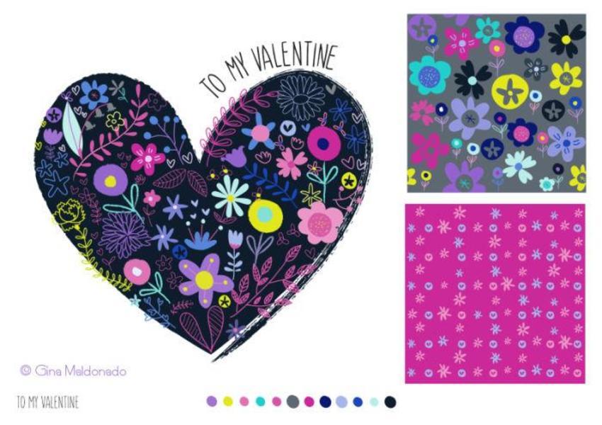 To My Valentine Pattern - GM