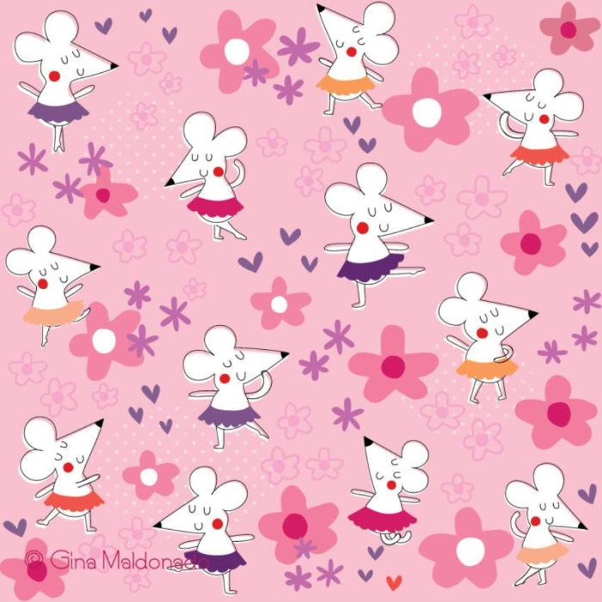 Little Mouse Ballet Pattern - GM