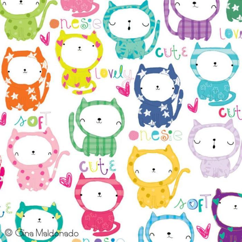 I _ My Onesie Pattern - GM