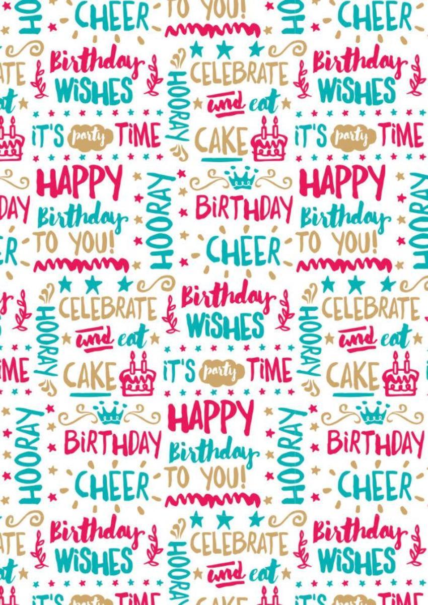 Birthday Wrap