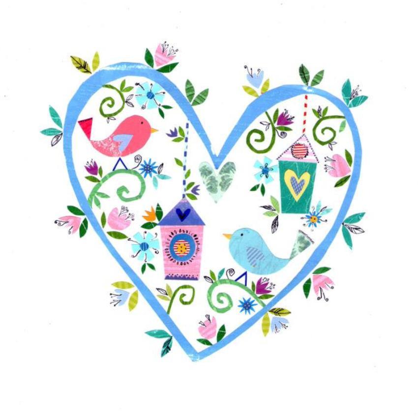 PTwins - New Love Heart Birds