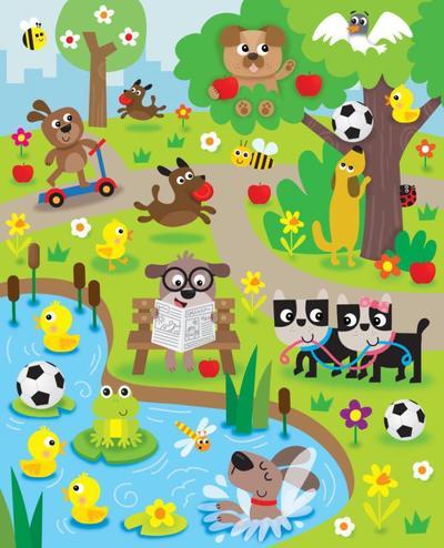 jennie-bradley-dogs-in-park-scene