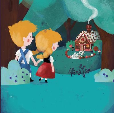 09nightforestcandyhousehansel-gretel-fairytale