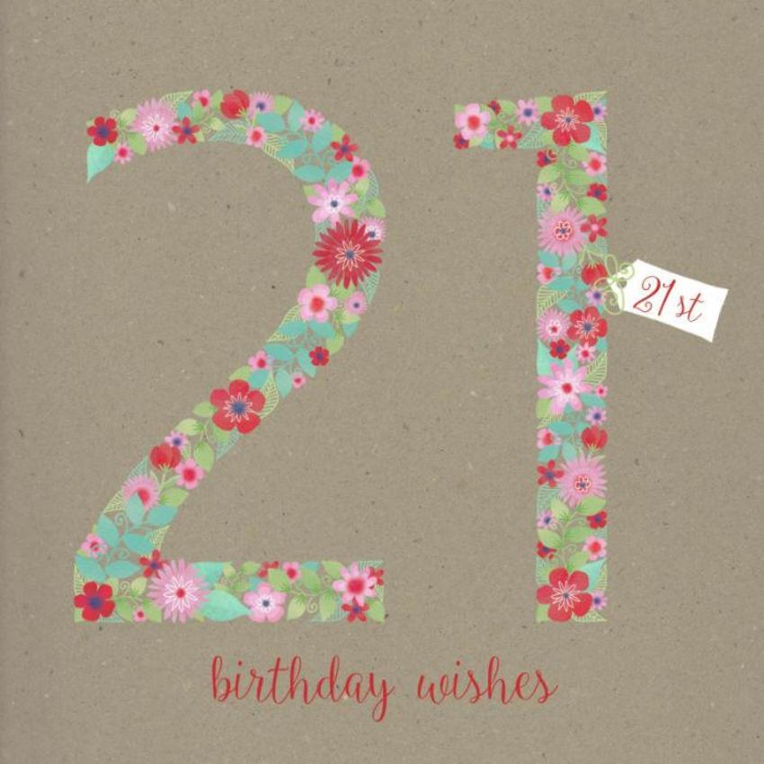 21st Female Birthday
