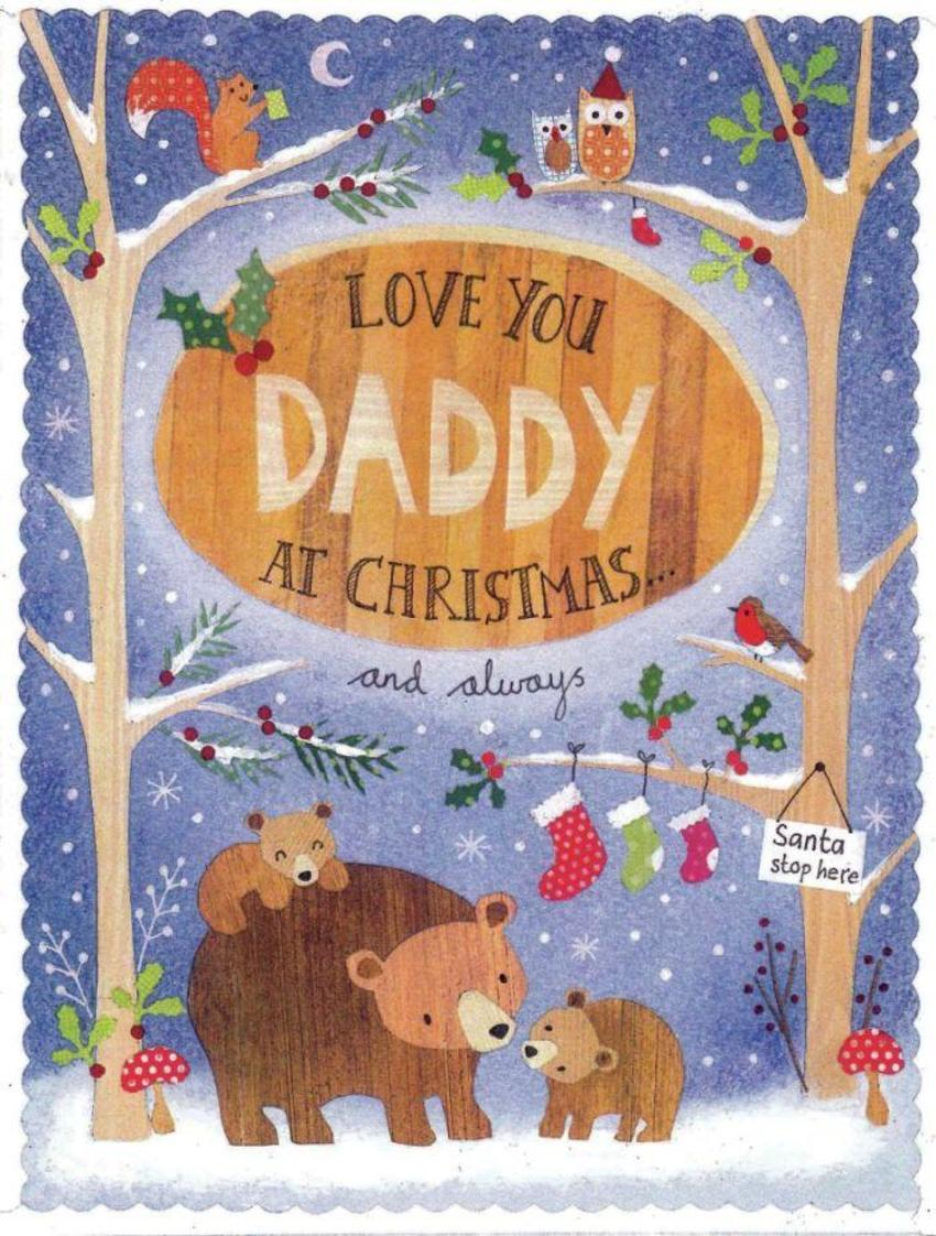 Daddy Christmas Bears