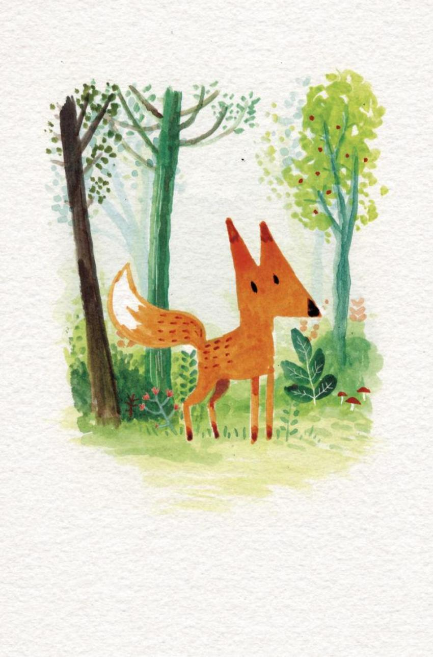 Fox In Foliage
