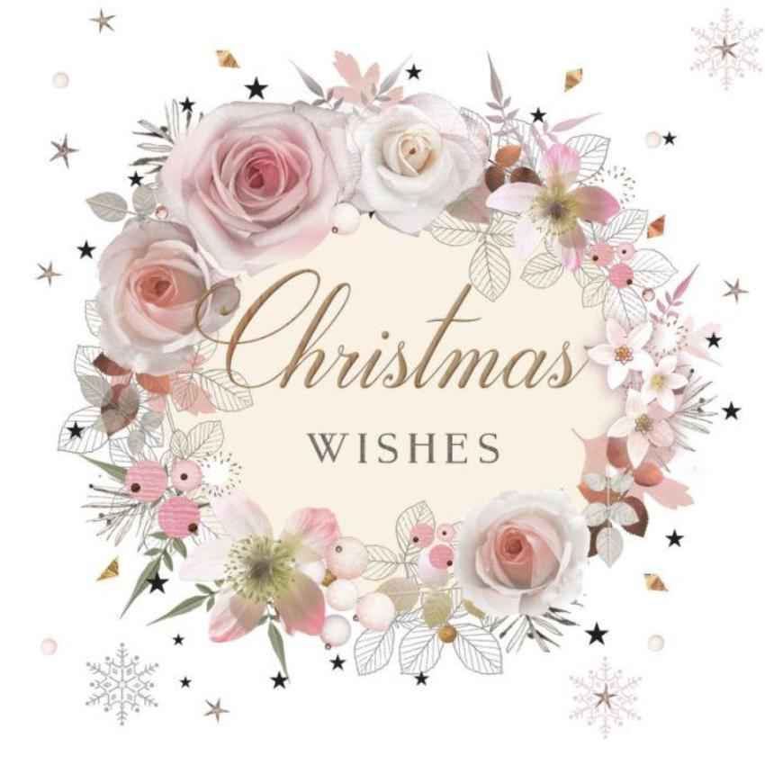 Lynn_horrabin_christmas Rose Wreath