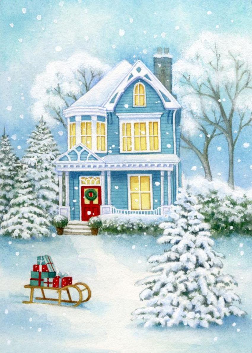 LA - Christmas House