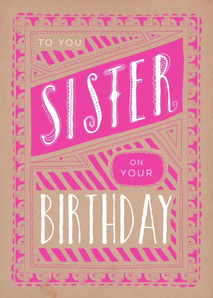RP Sister Vintage Typography