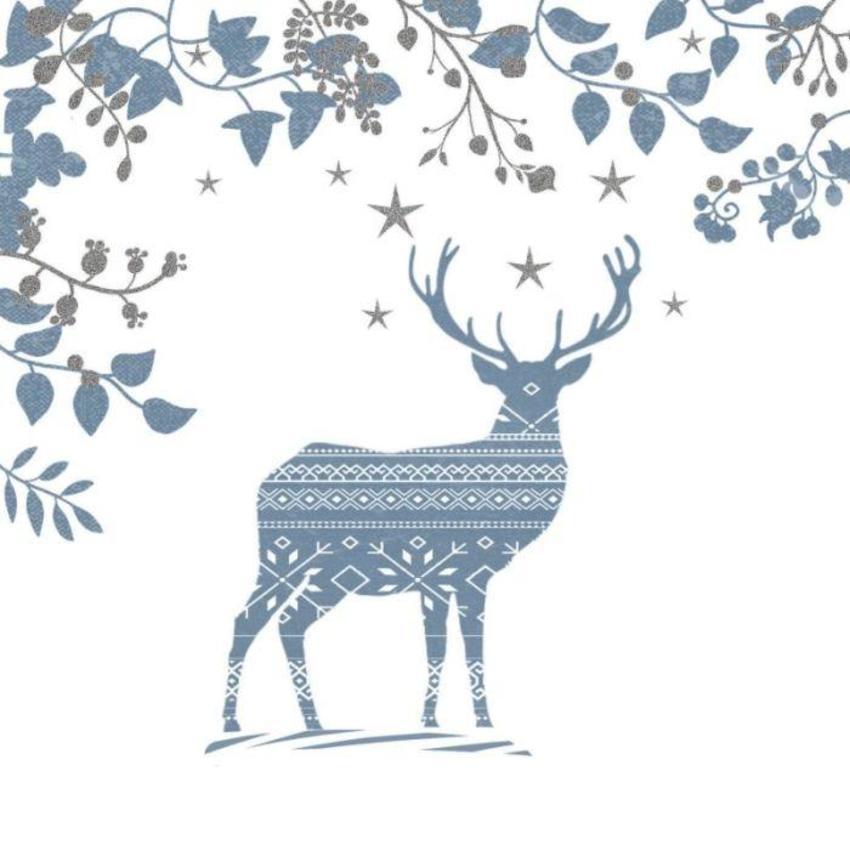 Christmas Stag Scandinavian Style