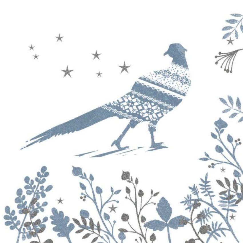 Christmas Pheasant Scandinavian Style