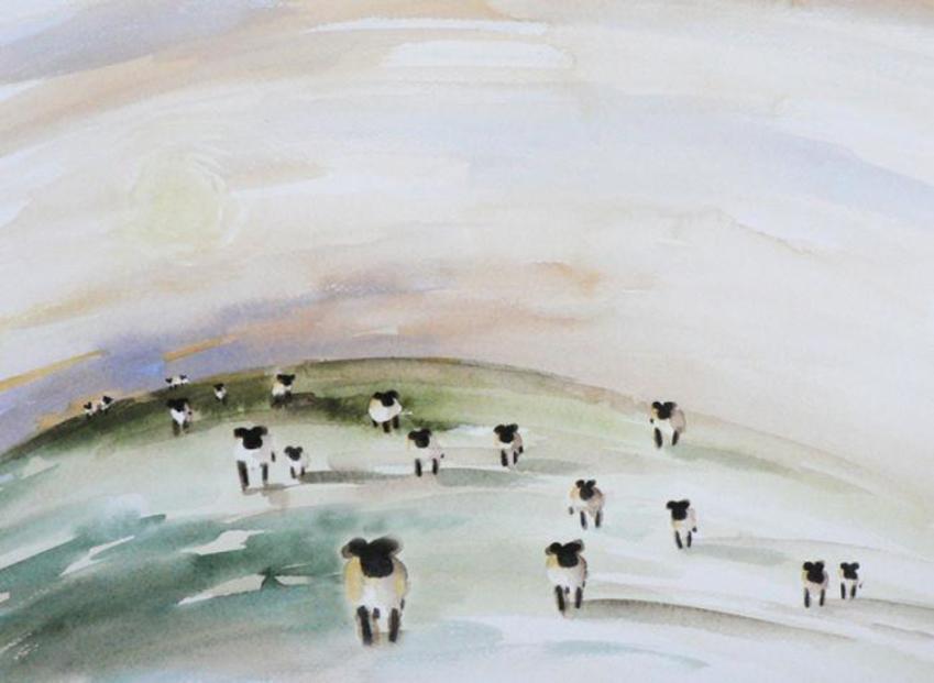 Wall Art Sheep