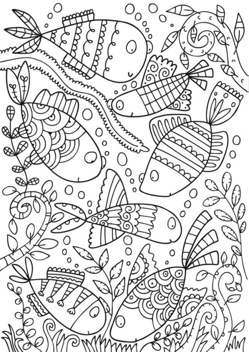 Bwcolouring_prettyfish