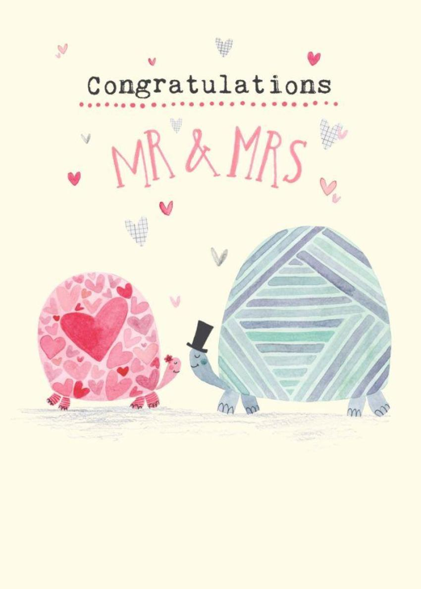 FF Congratulations Wedding Turtles