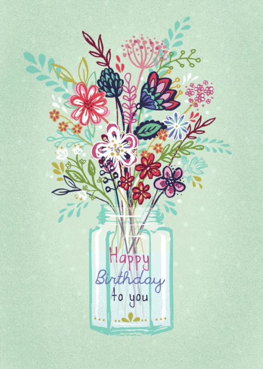 Modern Floral Vase