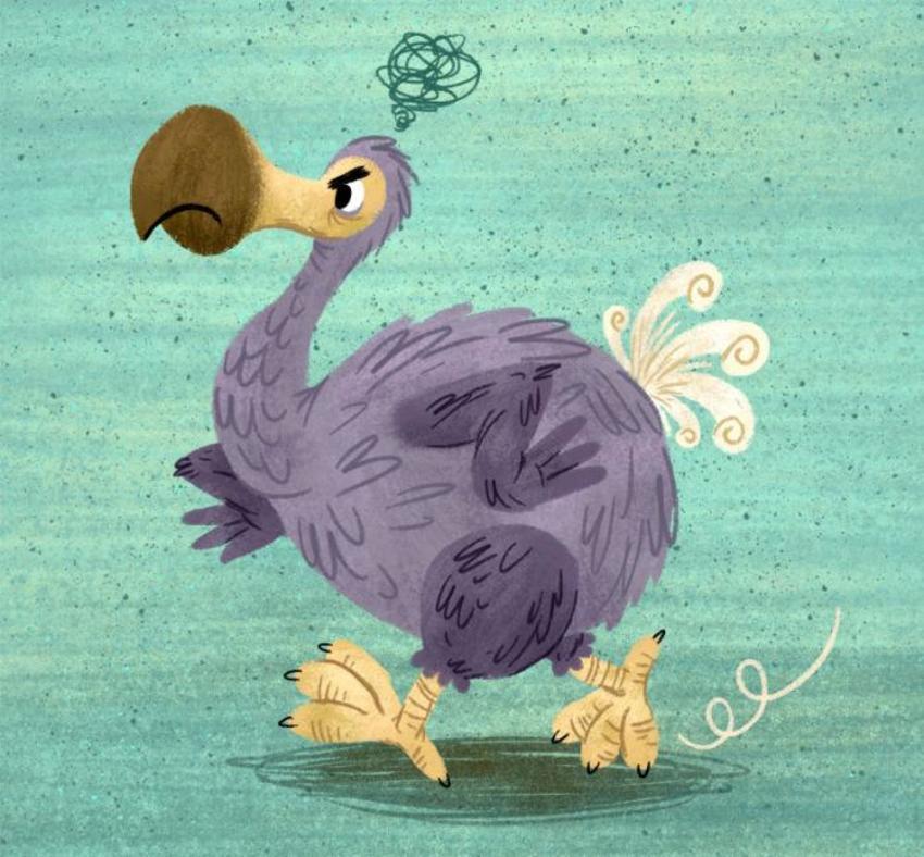 Grumpy Dodo