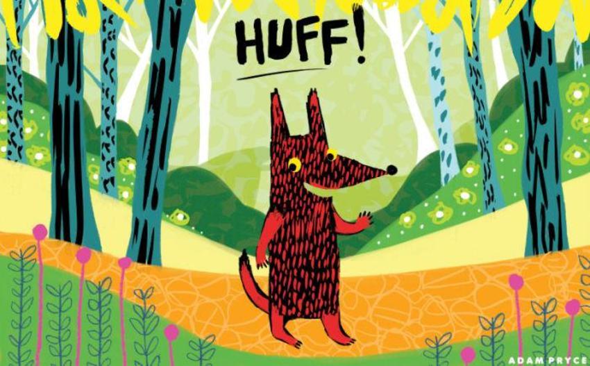 Huff The Big Bad Wolf