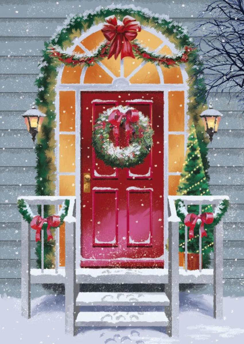 Festive-door