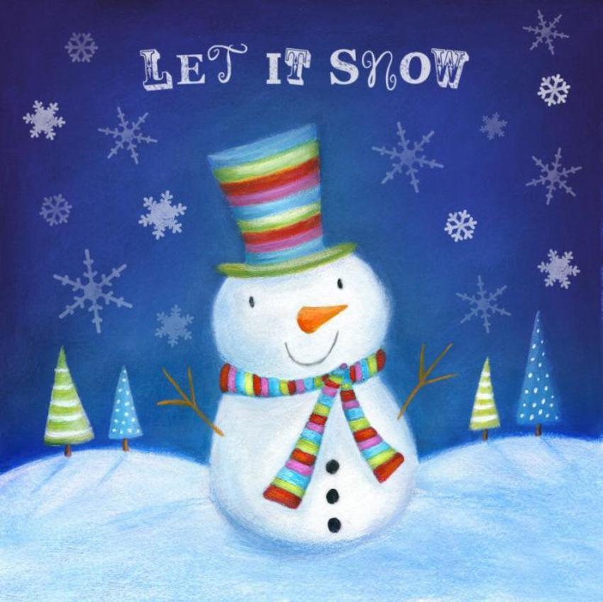 Ileana Oakley Christmas Snowman