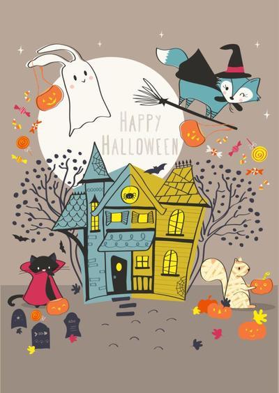 malulenzi-halloweenposter-illustration-2015