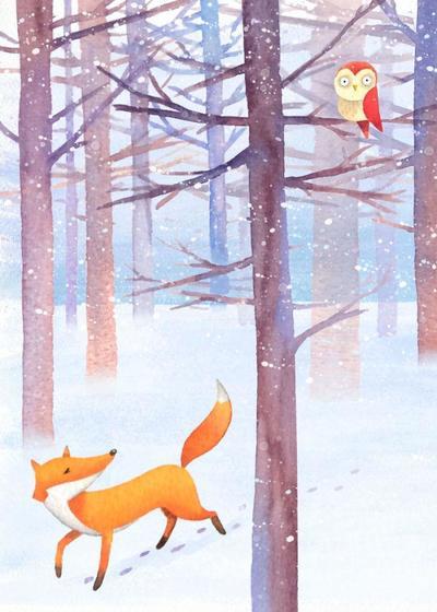 hwood-fox-owl-xmas