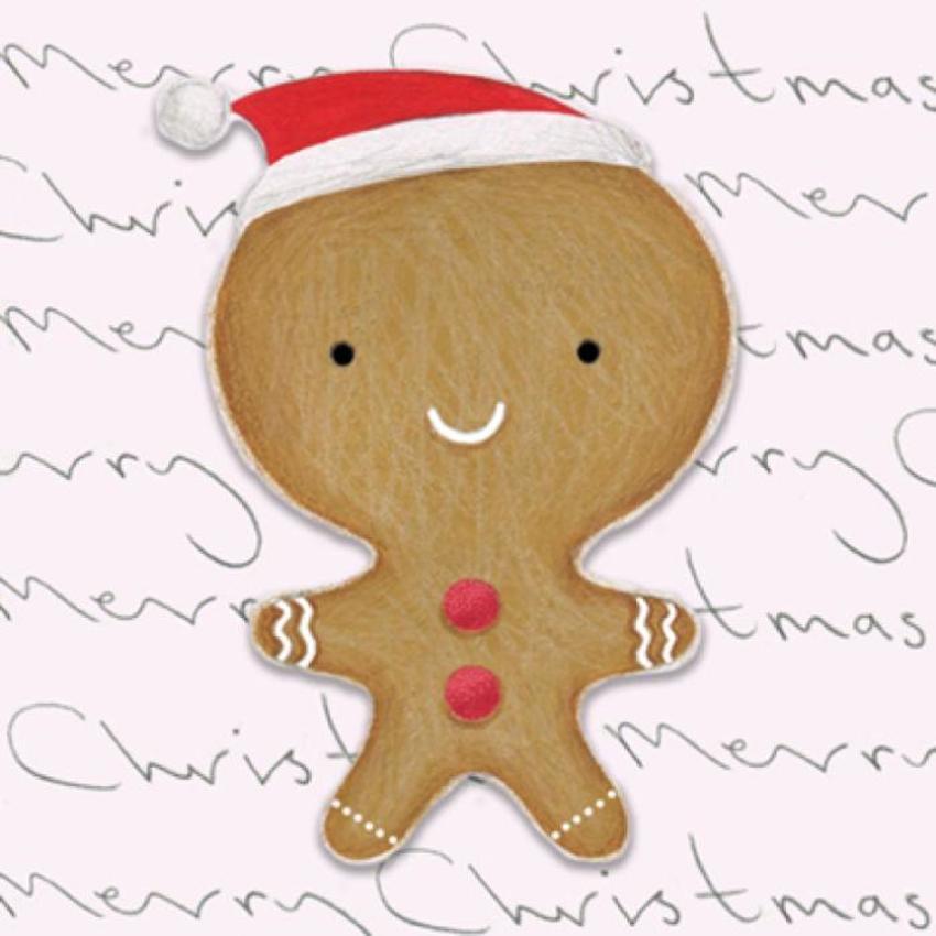 Gingerbread Man Text