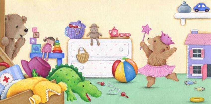 Bears Bedroom Toys