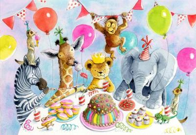 girraffe-zebra-meerkat-lion-elephant-chameleon-orangutan-cute-birthday-party