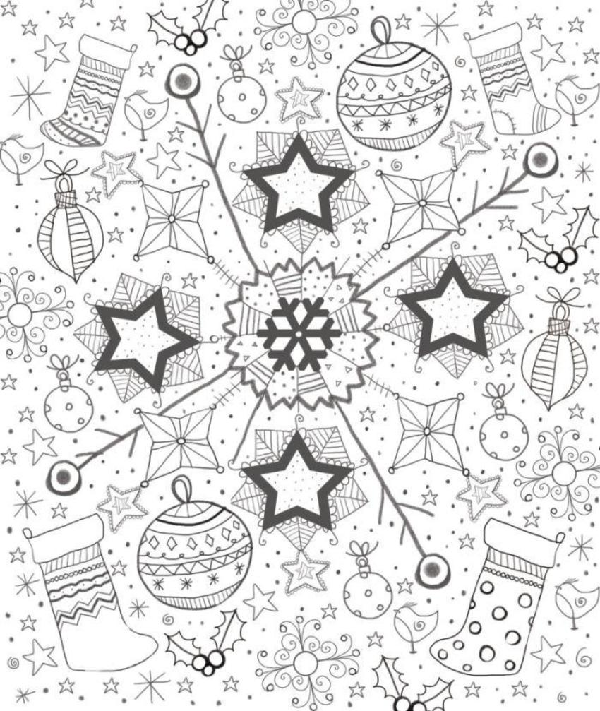Xmas Colouring Ksaunders 3