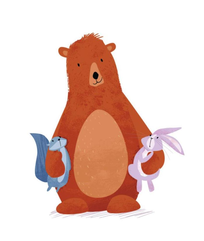 Bear And Friends