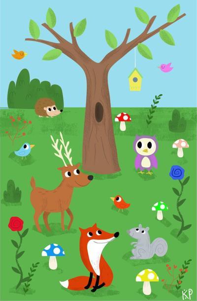woodland-scene-1