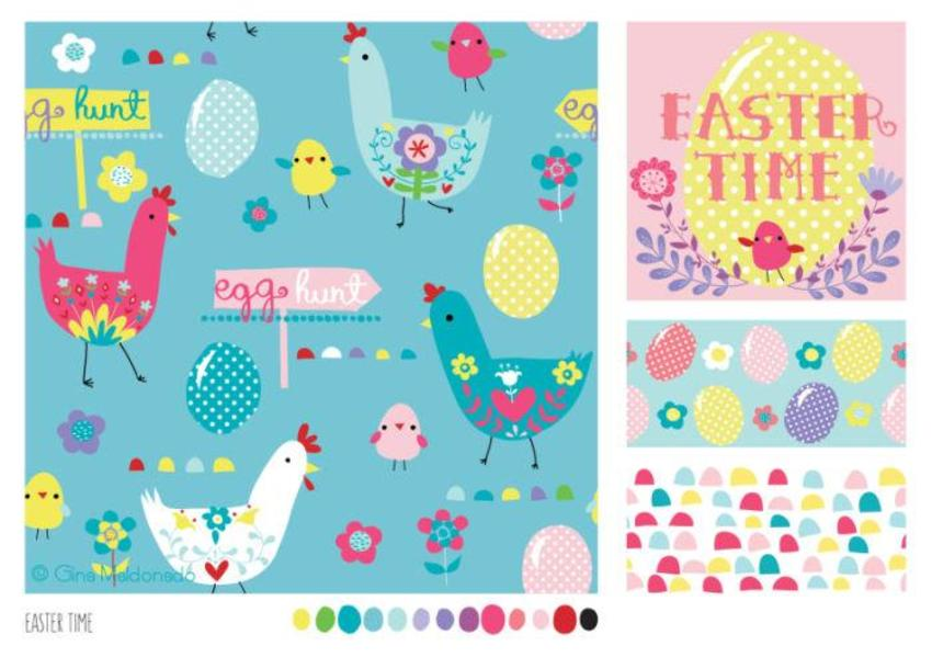 Easter Time Pattern - GM-04
