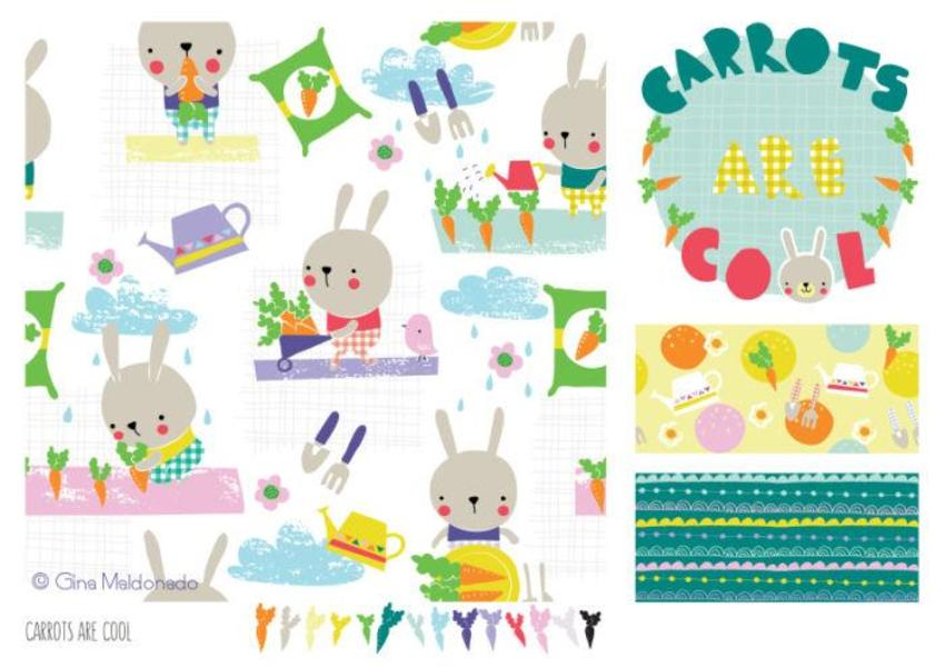Carrots Are Cool Pattern - GM