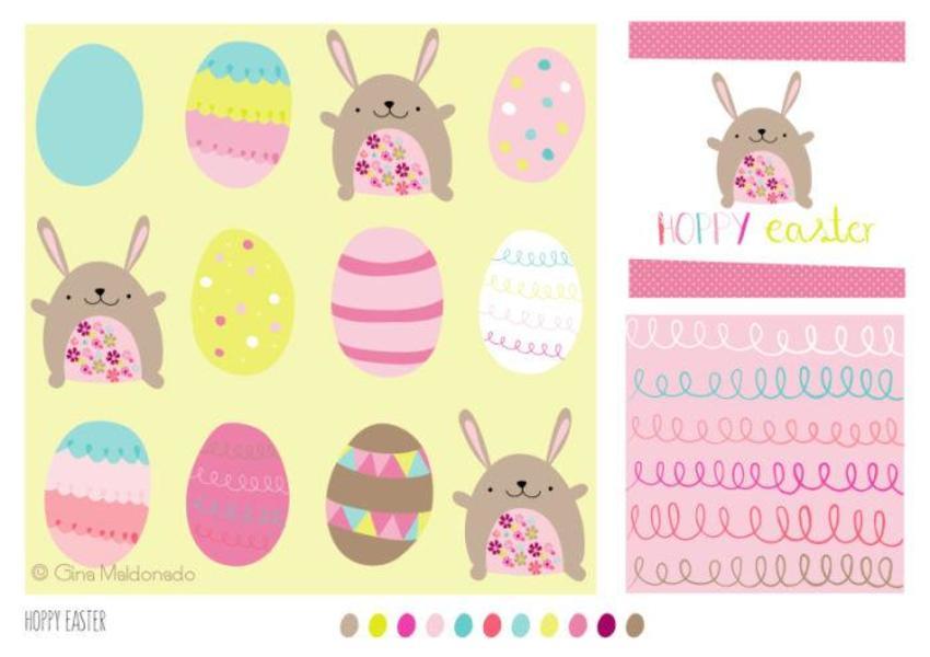 Hoppy Easter Pattern - GM
